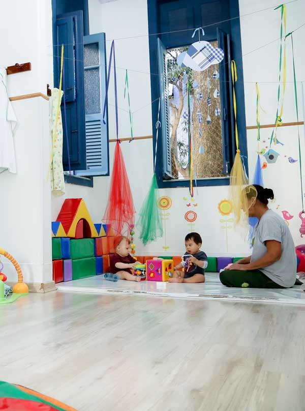 Estrutura: Quintal Educação Infantil na Laranjeiras - Rio de Janeiro
